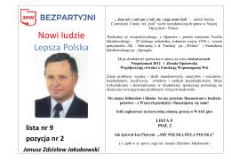 Nowi ludzie Lepsza Polska