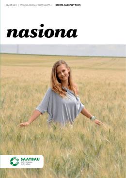 SEZON 2015 | KATALOG ODMIAN ZBÓŻ OZIMych