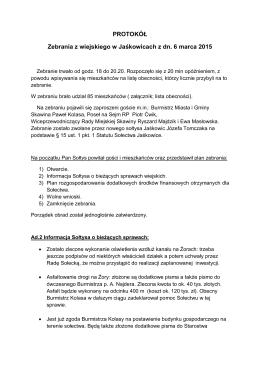 Tutaj - Sołectwo Jaśkowice