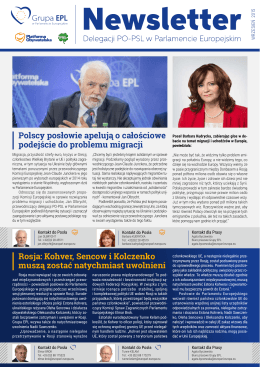 Newsletter PO-PSL