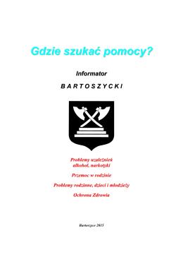 Gdzie szukać pomocy - Bartoszyce.pl