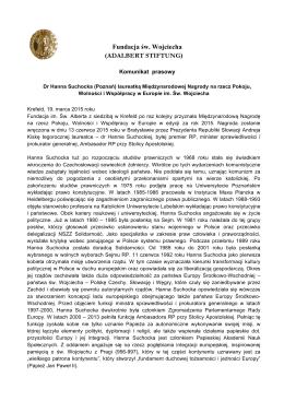 Fundacja św. Wojciecha - Adalbert Stiftung Krefeld