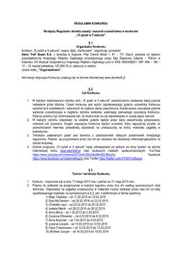 Regulamin - PGE Atom Trefl Sopot