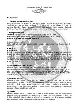 Regulamin grappling.pl