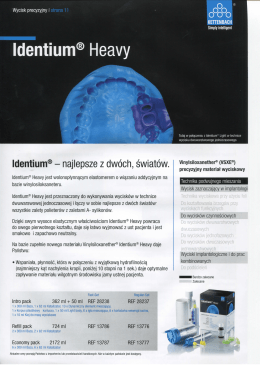 Identium® Heavy