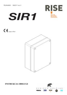 instrukcja SIR.1