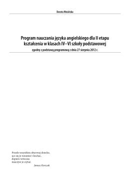 język angielski kl.4-6
