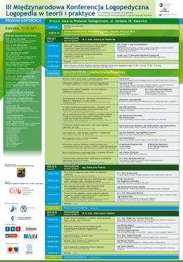 III Międzynarodowa Konferencja Logopedyczna