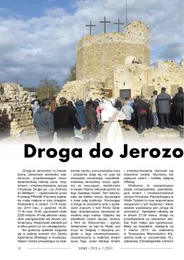 Droga do Jerozolimy