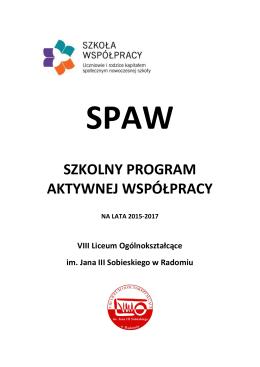 spaw - szkolny program aktywnej współpracy