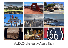 #USAChallenge by Aggie Bialy