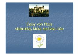 Daisy von Pless stokrotka, która kochała róże