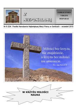 Nr 9 2015 - Bazylika Mniejsza w Gorlicach