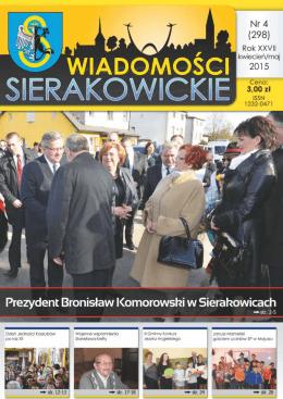 Śp. Zbigniewa Borowskiego - Wiadomości Sierakowickie