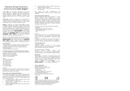 Instrukcja Obsługi SC-3 1v1
