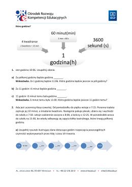 matematyka - zestaw zadań od Pani Beaty Wnuk ZADANIE1
