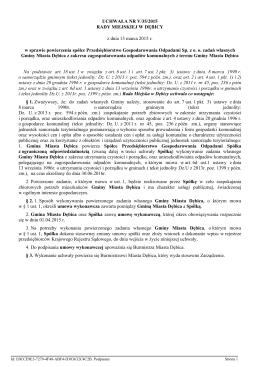 Uchwała nr 35/2015