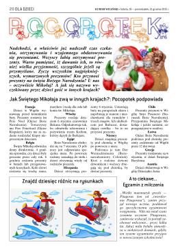 Jak Świętego Mikołaja zwą w innych krajach