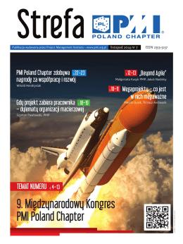 9. Międzynarodowy Kongres PMI Poland Chapter