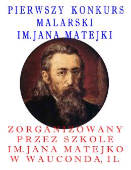 Kronika z I Konkursu Malarskieg