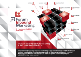 Partnerzy - II Forum Inbound Marketing
