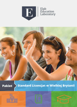 pakiet standard licencjat
