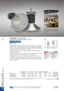 HERCULES HB-180 H ER CULES