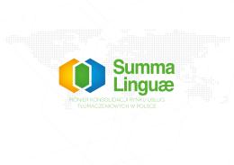 folder reklamowy Summa Linguae