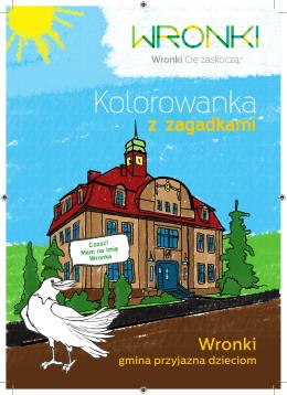 Kolorowanka - Wronki, Urząd Miasta i Gminy