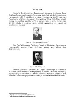 VIS wz. 1935 Koniec lat dwudziestych to w Departamencie