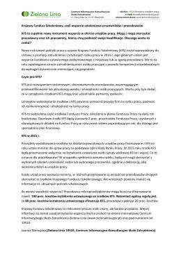 Plik PDF - Zielona Linia