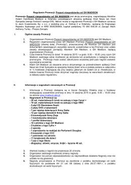 Regulamin Promocji: Zakupy premiowane w AB