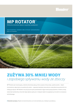 MP ROTATOR® - Hunter Industries