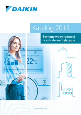 Daikin Woda Lodowa Katalog 2015
