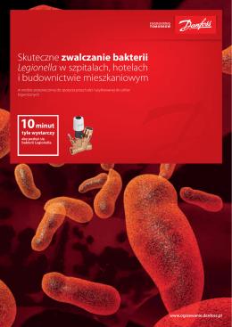 Skuteczne zwalczanie bakterii Legionella w