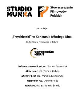 PRESSBOOK-30stki - Festiwal Polskich Filmów Fabularnych w Gdyni