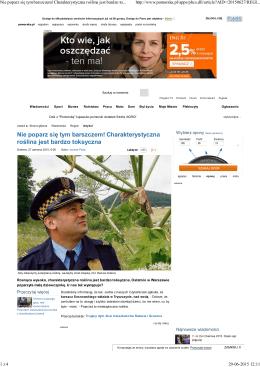 Gazeta Pomorska, 27.06.2015 r.
