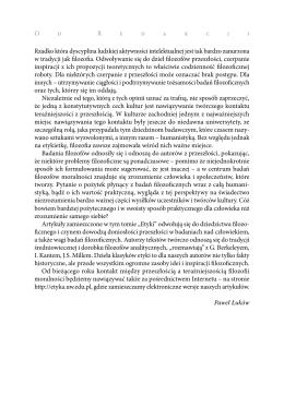 Pobierz - Etyka - Uniwersytet Warszawski