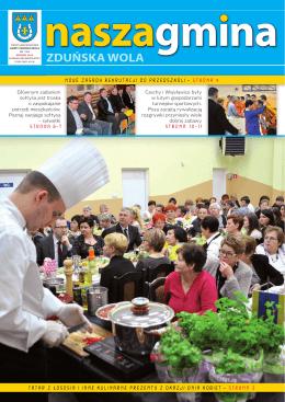 nr 1 (29) MARZEC 2015 - Urząd Gminy Zduńska Wola