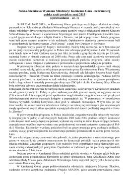 Polsko - Niemiecka Wymiana Młodzieży