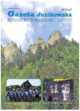 NR 49 (47) Czerwiec 2015 Członkowie Ogniwa podczas 20