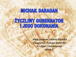 Michaił Daragan - Archiwum Państwowe w Kaliszu