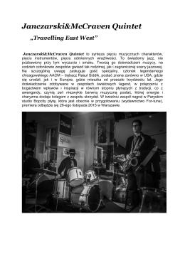 Janczarski&McCraven Quintet