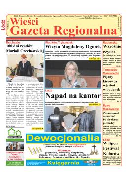 Wieści Gazeta Regionalna