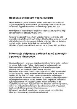 Óveður / Burza