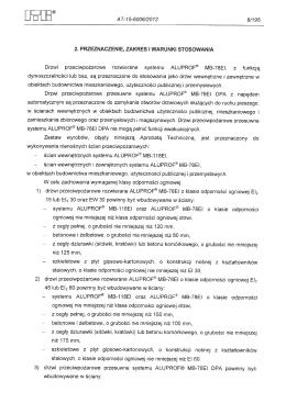 Stolarka P. POŻ. - montaż wymagania i przykłady zabudowy