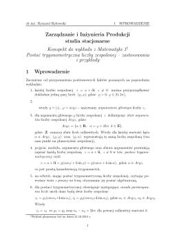 konspekt do wykładu z 21.10.2015