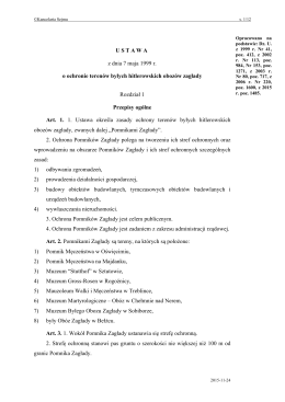 Akt prawny - Rada Ochrony Pamięci Walk i Męczeństwa