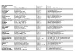 Lista autoryzowanych serwisów biorących udział w