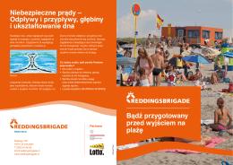 Bądź przygotowany przed wyjściem na plażę